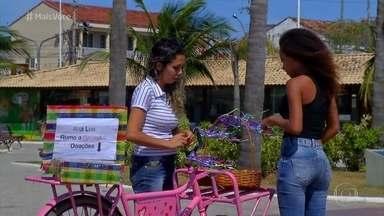 Nadiane começou a vender brigadeiros para custear viagem da filha - Ana Lua é bailarina e venceu um concurso internacional. Como a família não tinha o dinheiro para pagar a viagem, Nadiane se inspirou em história do 'Mais Você' e começou a vender doces pela cidade