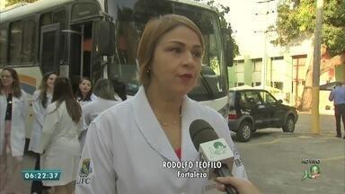 Veja os detalhes do mutirão com serviços gratuitos no bairro Rodolfo Teófilo - Saiba mais em g1.com.br/ce