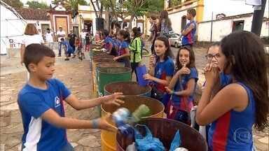 Fórum do Amanhã discute em Tiradentes ações para o desenvolvimento do país - Um exemplo é o projeto 'Lixo Zero', realizado por moradores da cidade histórica.