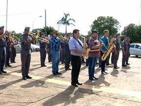Veteranos da Polícia Militar são homenageados em Presidente Prudente - Evento aconteceu na manhã desta sexta-feira (10).