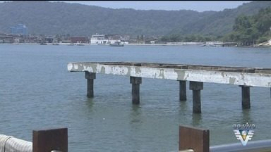 Deck do Pescador será reconstruído em 2018 - A prefeitura entregou nesta semana o edital para licitação que vai escolher a empresa para fazer as obras no equipamento.