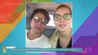 Letícia Colin, Heloísa Périssé e Felipe Cardoso relembram Márcia Cabrita - Último trabalho da atriz foi na novela 'Novo Mundo'. Márcia faleceu no Rio de Janeiro aos 53 anos