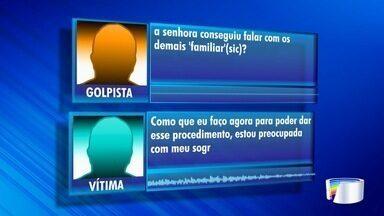 Polícia investiga ação de golpista que tentar extorquir dinheiro da família de pacientes - Pacientes estão internados em hospital em São José.