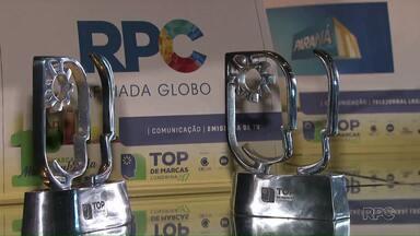 RPC ganha dois prêmios no Top de Marcas - A entrega dos prêmios foi na noite desta quinta-feira (9). A RPC foi a emissora mais lembrada pelos londrinenses e o ParanáTV o telejornal mais lembrado.