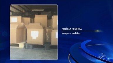 Polícia Federal cumpre mandados contra quadrilha em Jundiaí - Policiais federais estiveram em Jundiaí (SP) para cumprir mandados de busca e apreensão durante uma operação contra uma quadrilha que desviava produtos químicos para o tráfico de drogas nesta sexta-feira (10).