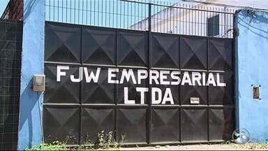 Sedes das empresas envolvidas em suposto esquema de desvio de verbas estão fechadas - 'Operação Torrentes' foi deflagrada em Pernambuco