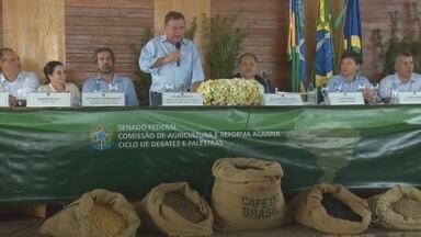 Ministro da Agricultura faz visita em Alta Floresta do Oeste - Daniela Vilar.