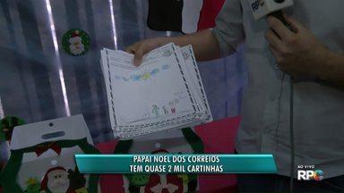 Correios dão início à campanha de Natal - Em Ponta Grossa, quase 2 mil cartinhas estão à espera de adoção.