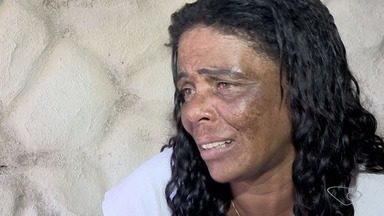 Mãe de Thayná diz que foi ameaçada por Ademir após imagens dele terem sido divulgadas - Acusado de sequestrar Thayná está na penitenciária de Vila Velha.
