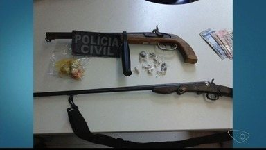 Operação policial é realizada em Baixo Guandu, no ES - Operação policial é realizada em Baixo Guandu, no ES