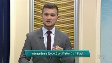 Batel perde novamente e não consegue vaga para a 2° Divisão do Campeonato Paranaense - A equipe perdeu hoje pro Independente de São José dos Pinhais.