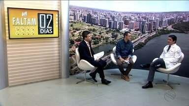 Confira as notícias do esporte desta quinta (16/11) - Thiago Barbosa e Lyderwan Santos entrevistam o cardiologista Sérgio Tavares, que fala sobre os cuidados médicos para quem vai correr a Volta de Aracaju.
