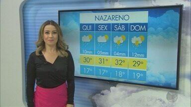 Confira a previsão do tempo para esta quinta-feira (16) no Sul de Minas - Confira a previsão do tempo para esta quinta-feira (16) no Sul de Minas