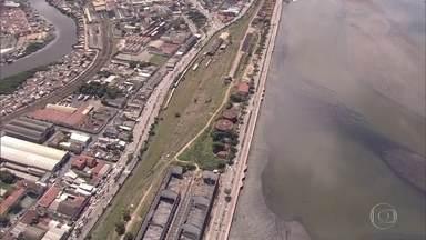 Decisão do TRF torna legal leilão do terreno do Cais José Estelita - Projeto Novo Recife, que prevê construção de 13 prédios no local, é alvo de grande polêmica.
