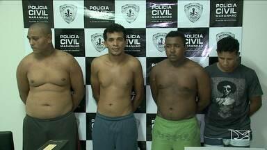 Quatro suspeitos de assaltar uma faculdade particular em São Luís são presos - Um dos suspeitos era aluno da escola e passava informações do local.