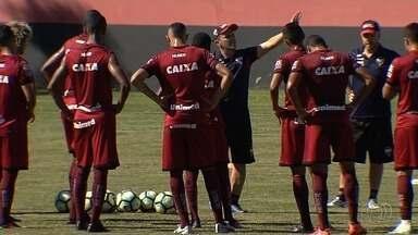 Atlético-GO visita o Botafogo e tenta vencer para não ser rebaixado - Lanterna da Série A, time pode cair matematicamente para a Segunda Divisão.