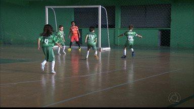 ACF comemora os bons resultados no futsal e revela sondagens do Grêmio - Rafael Victor, de apenas 7 anos, foi convidado para fazer testes em Porto Alegre