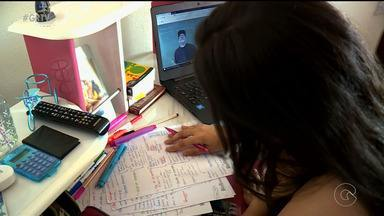 Depois do Enem, estudantes focam em vestibulares - Muitos aproveitam o que foi estudado para o exame