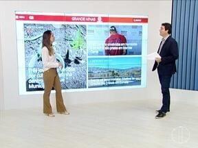 Juliana Peixoto mostra os destaques do G1 Grande Minas - Confira as novidades do portal.