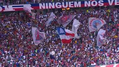 Bahia vence o Santos de virada e vaga na Libertadores fica cada vez mais perto - Confira as notícias do tricolor baiano.
