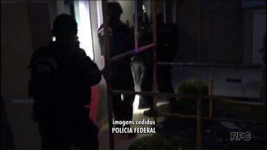 Trinta pessoas são presas durante operação contra o tráfico internacional de drogas - Policiais Federais cumpriram mandados no Paraná, Santa Catarina , São Paulo e Mato Grosso do Sul