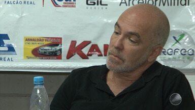 Juazeirense anuncia a contratação do técnico Luiz Antonio Zaluar - Treinador tem 54 anos e já conquistou títulos no Fortaleza e no Americano.