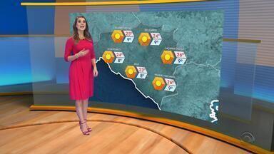 Tempo: massa de ar frio no RS neste domingo - Assista ao vídeo.