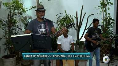 Conheça o repertório musical da banda Os Nômades - A banda toca Pop internacional e nacional.