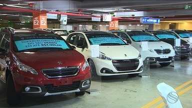 Feirão oferece descontos e taxas reduzidas para a compra de carros e motos - Feirão oferece descontos e taxas reduzidas para a compra de carros e motos.