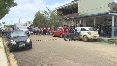 Homem é executado na frente de casa em Porto Velho - A vítima foi surpreendida enquanto chegava em casa.