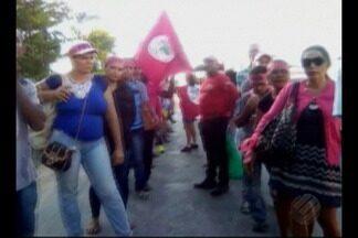 Agricultores acampam desde domingo na avenida Independência em Belém - Eles reivindicam questões sobre regularização fundiária e a ausência de programas sociais em municípios como Santo Antônio do Tauá, Santa Isabel, Moju e Ulianópolis