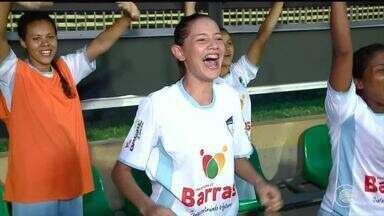 Meninas do Marathoan vence o Flamengo e sonha com classificação na Copa Piauí - Marathoan vence o Flamengo e sonha com classificação na Copa Piauí