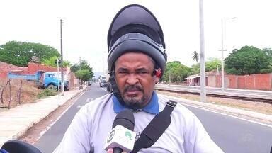 Motoristas reclamam do acesso aos bairros Salesianos e Santa Tereza - Saiba mais em g1.com.br/ce
