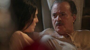 José Augusto recusa pedido de Delfina - O produtor de vinho afirma que Delfina tomará as decisões sobre a quinta