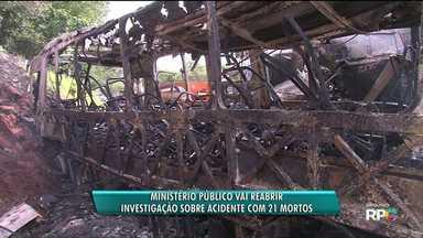 MP planeja reconstituição de acidente que matou 21 pessoas na PR 323 - A investigação será reaberta, após o próprio Ministério Público ter dado o caso como encerrado.