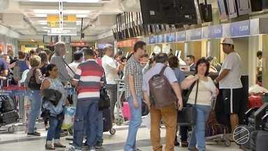 Voos diretos de MS a Assunção, no Paraguai, serão operados daqui a um mês - De janeiro a outubro, mais de um milhão de passageiros passaram pelo Aeroporto Internacional de Campo Grande. Esse movimento deve aumentar com os voos que vão unir Mato Grosso do Sul e Assunção, no Paraguai.