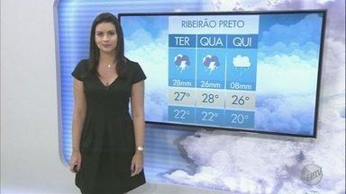 Veja a previsão do tempo para esta terça-feira (21) na região de Ribeirão Preto - O tempo continua instável por causa da frente fria na região Sudeste.