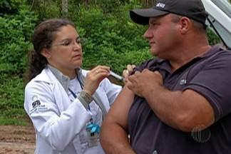 Prefeitura de Mogi faz balanço da vacinação contra febre amarela - Moradores da zona rural receberam a vacina em casa.
