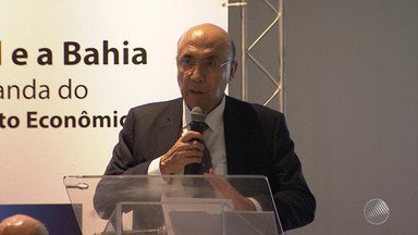 Em Salvador, Henrique Meirelles participa de fórum sobre a situação da economia do Brasil - A ocasião reuniu empresários, comerciantes e economistas.