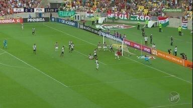Ponte Preta perde do Fluminense no Maracanã e se complica na luta contra a degola - Equipe enfrenta o Vitória na próxima rodada.