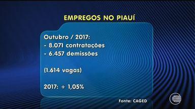 CAGED mostra crescimento de 0,5% em vagas de emprego no Piauí - CAGED mostra crescimento de 0,5% em vagas de emprego no Piauí