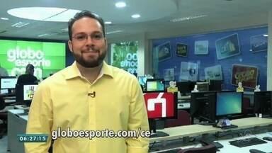 Veja os destaques do esporte do Bom Dia CE desta terça-feira (21) - Saiba mais em g1.com.br/ce