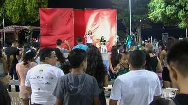 Em turnê pela região, grupo teatral Jeová Nissi faz apresentação especial em Santarém - O grupo é um dos mais conhecidos no meio gospel. Na noite de segunda-feira (20), os missionários que integram o grupo fizeram uma apresentação especial, na Praça Tiradentes.