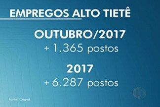 Caged aponta saldo de empregos do mês de outubro no Alto Tietê - Em outubro, foram criados mais de 1,3 mil empregos.