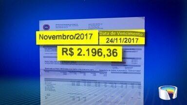 Moradores do Campo dos Alemães, em São José, recebem contas de até R$ 3 mil - Eles questionam os valores.