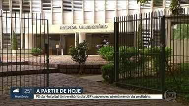 SP1 - Edição de terça-feira, 21/11/2017 - O hospital universitário da USP não está mais atendendo crianças no pronto-socorro. E mais as notícias da manhã.
