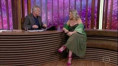 Bial relembra primeira entrevista com Vera Fischer - Atriz também comenta sua trajetória profissional