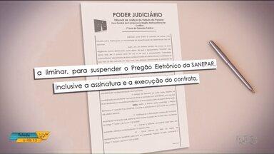Justiça suspende licitação da Sanepar para contratar empresa para fazer limpeza das praias - O pedido da suspensão foi feito por uma empresa que não conseguiu concorrer ao processo.