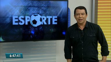 Kako Marques apresenta as notícias do Esporte nesta quarta-feira - Confira os destaques de hoje.