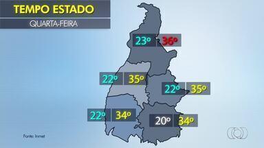 Confira a previsão do tempo para o estado nesta quarta-feira (22) - Confira a previsão do tempo para o estado nesta quarta-feira (22)
